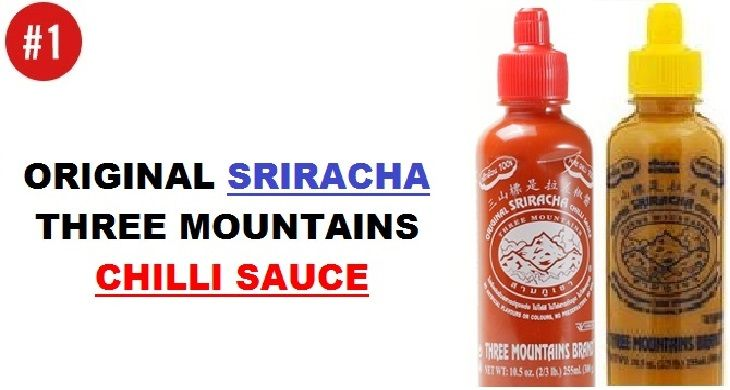Three Mountains Sriracha Chilli Sauce